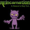 Reincarnation: ADDO - Help the demon perform his evil tasks in this short, but fun, P&C game.